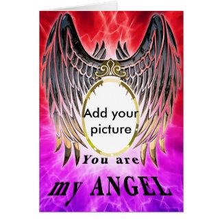 Sie sind mein Engel Karte