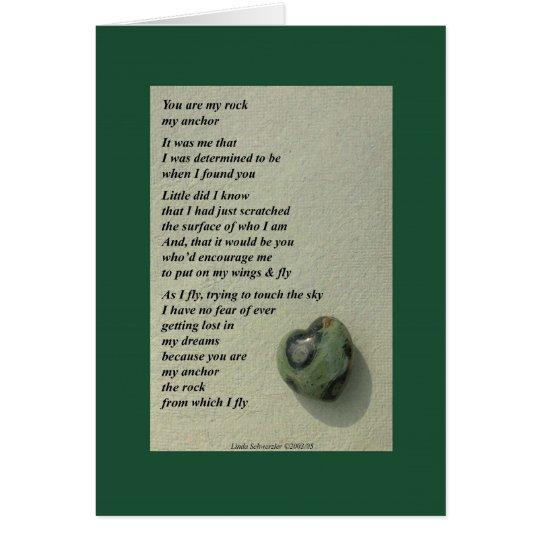 Sie sind mein Felsen… Karte