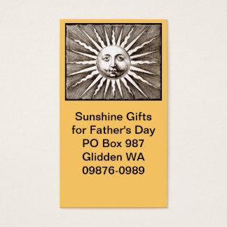 Sie sind mein Sonnenschein-Vati Visitenkarten