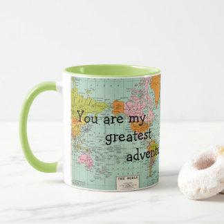 Sie sind meine bestste Abenteuer-Tasse Tasse