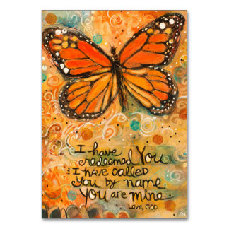 """""""Sie sind meine"""" Jesaja-Gebets-Karte mit Karte"""