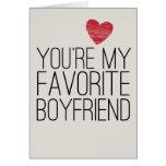 Sie sind meine Lieblingsfreund-lustige Liebe-Karte