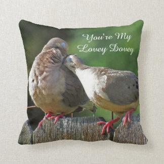 Sie sind meine reizende Dovey Morgen-Taube Kissen