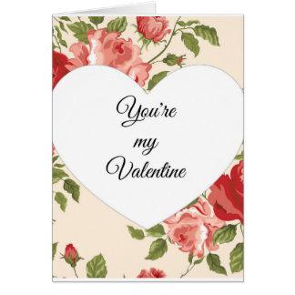 Sie sind meine Valentinsgruß-Karte Karte