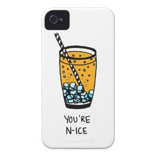 Sie sind Nizza iPhone 4 Hülle