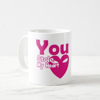 Sie stahlen meine Herz-Tasse Kaffeetasse
