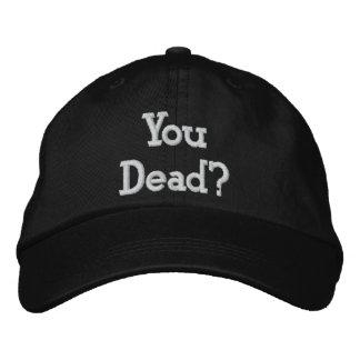 Sie tot? bestickte kappe