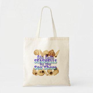 Sie verkauft Seashells-Taschen-Tasche Tragetasche