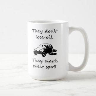 Sie verlieren nicht Öl Tasse