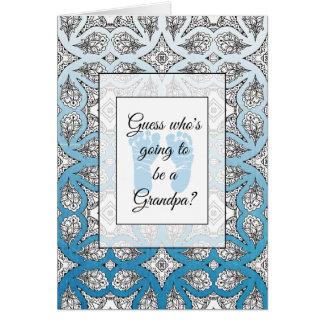 Sie werden eine Großvater-Mitteilungskarte sein Karte
