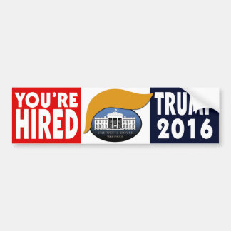 Sie werden - Trumpf 2016 eingestellt Autoaufkleber