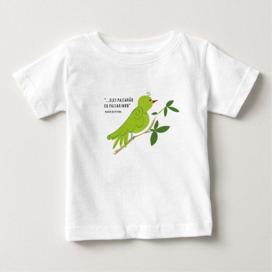 Sie werden vorbeigehen mich Vöglein Baby T-shirt