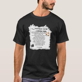 Sie wissen, dass Sie ein Treibnetzfischer wenn… T-Shirt