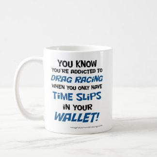 Sie wissen, dass Sie gewöhnt werden, um das Laufen Kaffeetasse