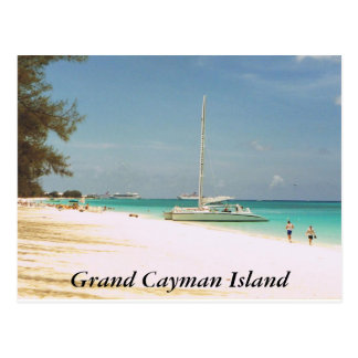 Sieben Meilen-Strand, Grand Cayman Insel Postkarte