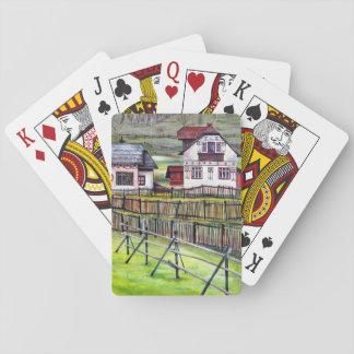 Siebenbürgen, Rumänien Spielkarten