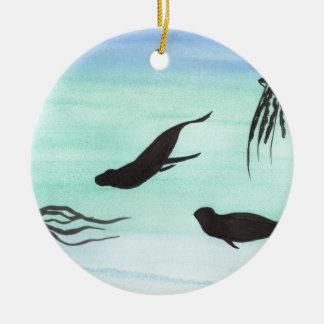 Siegel Unterwasser Keramik Ornament