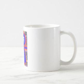 SIEGER blaues Band Kaffeetasse