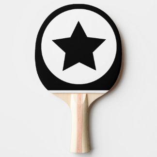 Sieger-Stern-Klingeln Pong Paddel Tischtennis Schläger