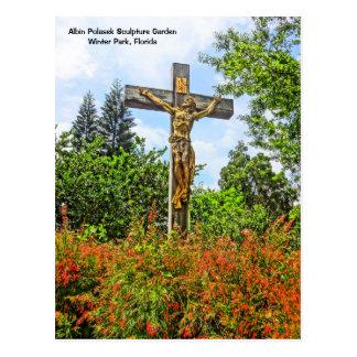 Siegreicher Christusbronzeskulptur-Winter-Park, FL Postkarte