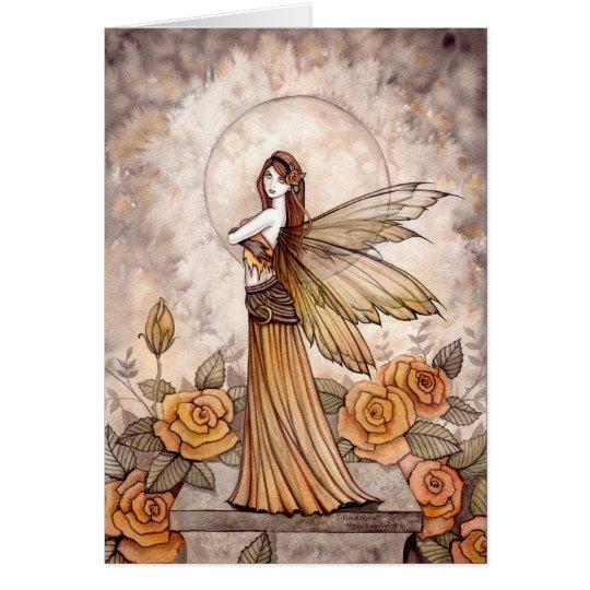 Sienna-Rosen-feenhafte Karte durch Molly Harrison