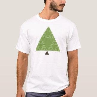 Sierpinski Dreieck-Baum T-Shirt
