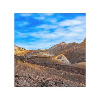Sierra Negra Landschaft, Galapagos, Ecuador Leinwanddruck