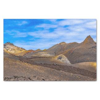 Sierra Negra Landschaft, Galapagos, Ecuador Seidenpapier