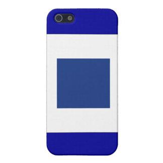 Sierra (S) Signal-Flagge iPhone 5 Etui