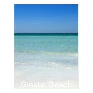 Siesta-Strand-Golf-Küste Postkarte