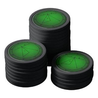 Sigil Magie-Chips Poker Chip Set