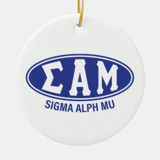 Sigma-Alpha MU | Vintag Keramik Ornament