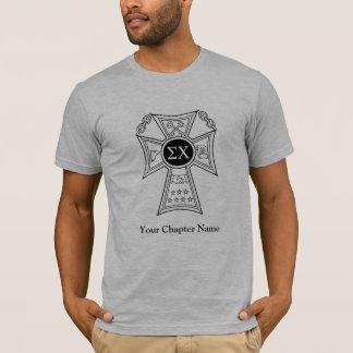 Sigma-Chi-Abzeichen T-Shirt