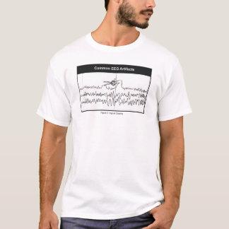 Signal-Ausschnitts-T - Shirt