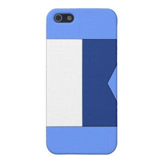 Signal-Flagge des Alpha-(a) iPhone 5 Etuis