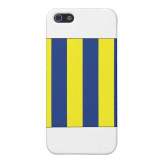 Signal-Flagge des Golf-(g) iPhone 5 Etuis