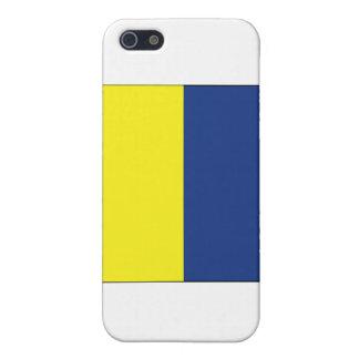 Signal-Flagge des Kilo-(K) Schutzhülle Fürs iPhone 5