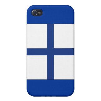 Signal-Flagge des Röntgenstrahl-(X) iPhone 4 Etui