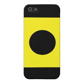 Signal-Flagge Indiens (i) iPhone 5 Cover