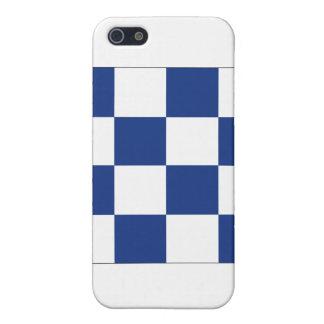Signal-Flagge Novembers (N) Hülle Fürs iPhone 5