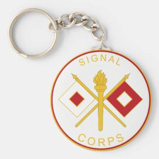 Signal-Korps-Niederlassungs-Plakette Schlüsselanhänger