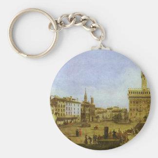 Signoria Quadrat in Florenz durch Bernardo Schlüsselanhänger