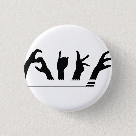 SiKE Knopf (klein) Runder Button 3,2 Cm
