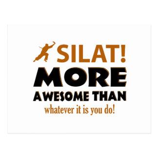 Silat Kampfkunst-Geschenk ietms Postkarte