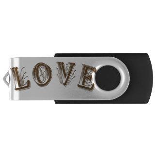 Silber, 16 GBs, schwarzes USB USB Stick