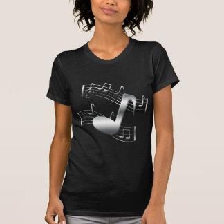 Silber-Melodien T-Shirt