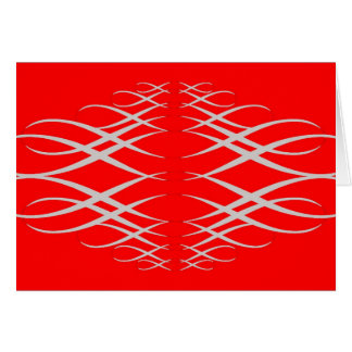 Silber u. Rot Karte