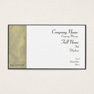 Silber-und GoldVisitenkarten Visitenkarte