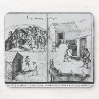 Silberbergwerk von La Croix-Zusatz-Bergwerken, Mousepad