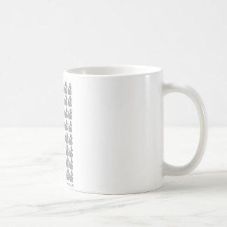 Silberne Ente Kaffeetasse